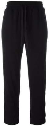 Haider Ackermann drawstring waistband cropped trousers