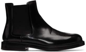 Calvin Klein Black Hova Chelsea Boots
