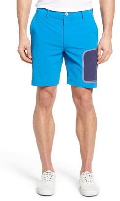 Men's Vineyard Vines 8 Inch Performance Breaker Hybrid Shorts $85 thestylecure.com