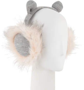 5c519411407 Karl Lagerfeld Paris Lagerfeld Kitty Faux-Fur Earmuffs