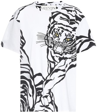 Valentino Printed cotton T-shirt