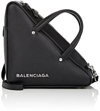 Balenciaga Women's Triangle Small Shoulder Bag $1,545 thestylecure.com