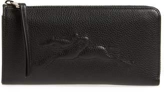 Longchamp Le Foulonne Zip Around Wallet