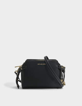 MICHAEL Michael Kors Bristol Medium Messenger Bag in Black Samba Rona 18K
