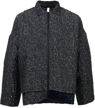 Cottweiler textured shirt jacket