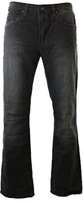 Buffalo David Bitton Men's Six Slim Staright Leg Jeanin Light Hand Sand
