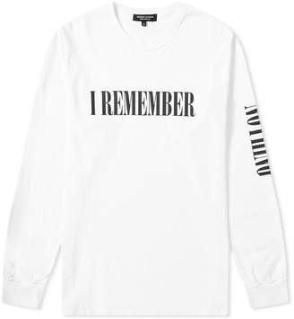 Midnight Studios Long Sleeve I Remember Nothing Tee