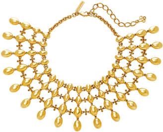 Oscar de la Renta Dot Gold-Tone Necklace