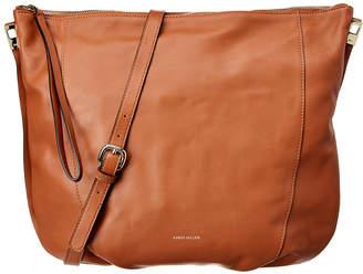Karen Millen Chain Handle Leather Sling Bag