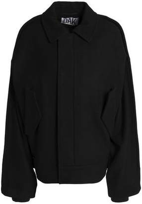 OAK Wool-Blend Bomber Jacket