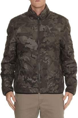 Michael Kors Chambray Camouflage Padded Jacket