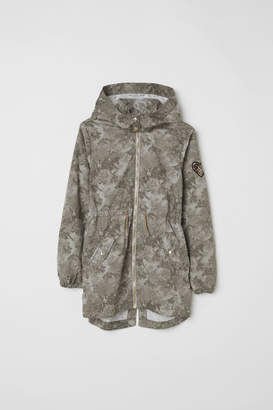 H&M Cotton Parka - Green