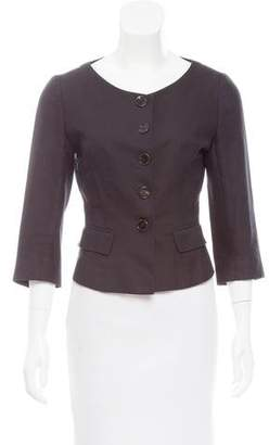 Morgane Le Fay Structured Collarless Jacket