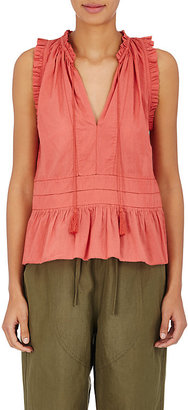 Ulla Johnson Women's Cosette Sleeveless Blouse $230 thestylecure.com