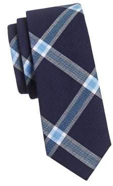 Haight & Ashbury Cotton Checkered Tie