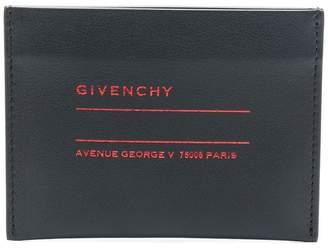 Givenchy logo slip wallet