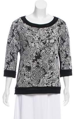 Yoana Baraschi Long Sleeve Knit Sweater