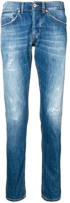 Dondup distressed straight-leg jeans