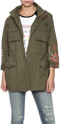 Hayden Oversized Military Jacket $79 thestylecure.com