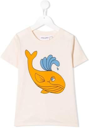 Mini Rodini whale print T-shirt