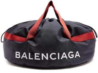 Balenciaga Wheel Bag S - Womens - Navy Multi