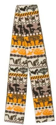 Stella McCartney Wool Print Scarf