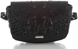 Brahmin Lil Croc Embossed Leather Convertible Crossbody Bag