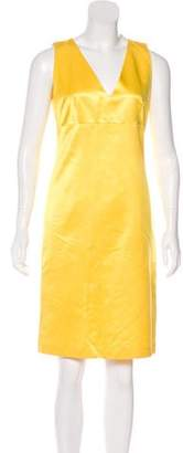 Max Mara Sleeveless Knee-Length Dress