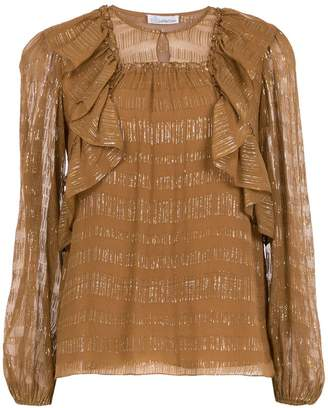 Nk Collection ruffled blouse