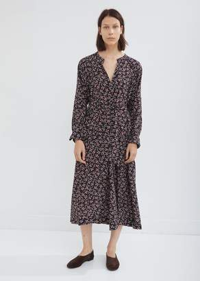Isabel Marant Lympia Printed Silk Dress