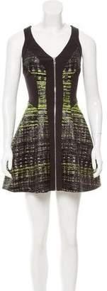 Robert Rodriguez Jacquard Mini Dress