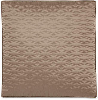 Hotel Collection Closeout! Woven Texture Red Quilted European Sham, Created for Macy's Bedding