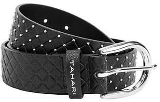 Tahari Studded Hip Belt