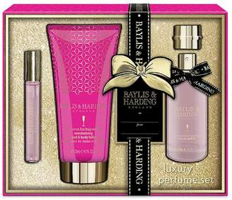 Baylis & Harding Prosecco Fizz EDP, Rollerball & Hand Lotion Gift Set