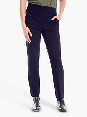 Max Studio Stretch Trousers, Navy