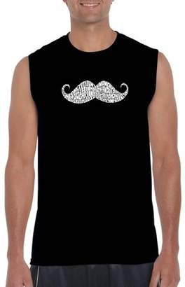 Pop Culture Men's Sleeveless T-Shirt - Ways To Style A Moustache