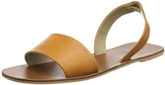 Warehouse Women's Two Part Double Band Open Toe Sandals,41 EU