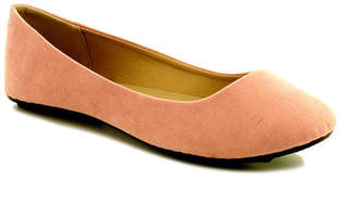 Refresh Demi Suede Flat $25.99 thestylecure.com