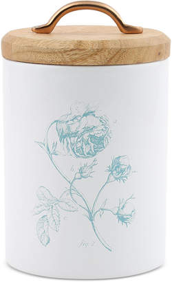 Thirstystone CLOSEOUT! Small Floral Canister with Wood Top