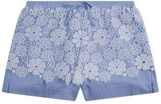 Ermanno Scervino Lace Overlay Shorts