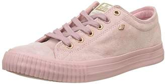British Knights Women's Master LO Trainers, (Soft Pink/Rose Gold)
