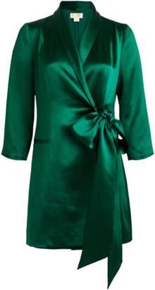 Mestiza New York Claudia Tuxedo Dress In Emerald