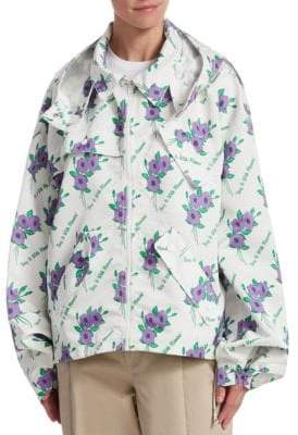 Rosie Assoulin Sarah Jessica Water Resistant Parka