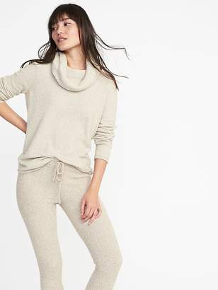 Old Navy Plush Funnel-Neck Pullover for Women