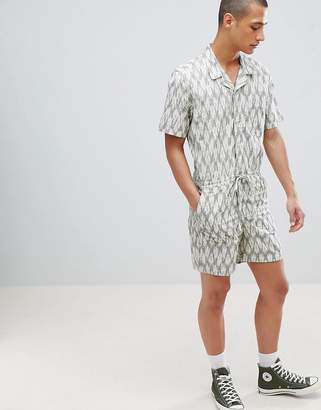 Asos DESIGN Boilersuit With Revere Collar And Lightweight Fabric
