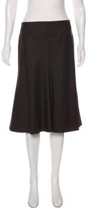Akris Tonal Knee-Length Skirt