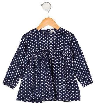 Rachel Riley Girls' Printed Long Sleeve Blouse