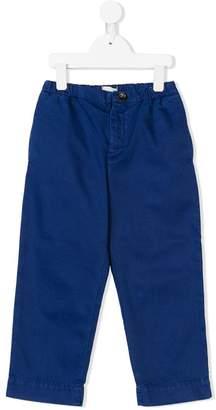 Gucci Kids elasticated-waist chino trousers
