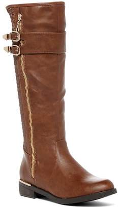 Top Moda Ginger Faux Leather Boot
