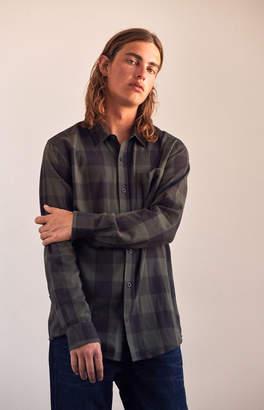 Pacsun Plaid Flannel Long Sleeve Button Up Shirt